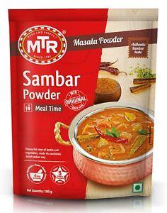 MTR Sambar Sambar Currypulver 200g / curry powder (1,30€/100g)