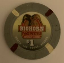 New listing Las Vegas Big Horn Casino $1 Chip — Uncirculated Combining Ship 50% Off