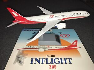 """1:200 INFLIGHT200 B787-9 Dreamliner SHANGHAI AIRLINES """"100th aircraft"""""""