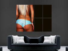 HOT Sexy Bum erotico ragazza ENORME GRANDE Wall Art POSTER FOTO