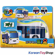 The Little Bus Tayo PEANUT Diecast Plastic Car Toy Pull Back Electronic Tour Bus