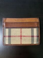Burberry Sandon Vintage Card Wallet (used)