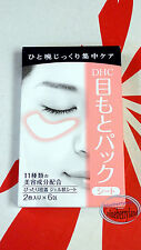 DHC Revitalizing Moisture Strips for Eyes 6 pairs eye mask treatments skin care