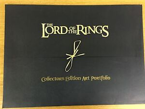 Lord Of The Rings Return Of The King Uk Exclusive Lithograph Set- 9 x A3 Prints+