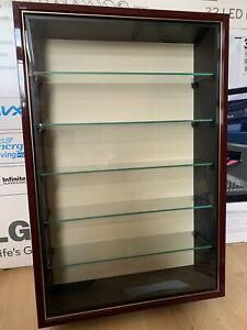 wall model display cabinet