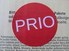 PRIO-Aufkleber - zusätzliche Markierung von PRIO-Briefen der Deutschen Post