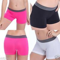 Women Summer Pants Sports Shorts Gym Workout Waistband Skinny Yoga Short
