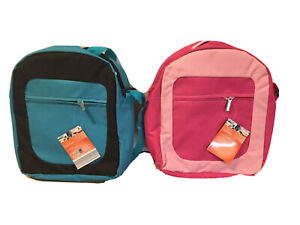 CROFTON Kids Insulated Padded School Lunch Picnic Cool Bag Pink Or Blue BNWTS