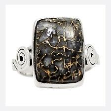 Dinosaur Bone 925 Sterling Silver Ring Jewelry s.9 23745R