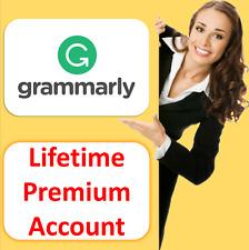 Grammarly.Premium ✅Lifetime✅ Account Warranty Instant Delivery Grammar Checker