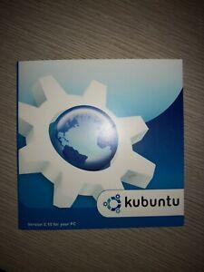 Original Kubuntu 6.10 PC Linux Install CD