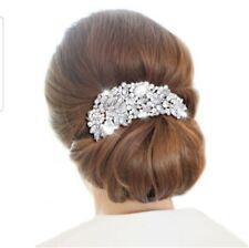 Bridal Wedding Accessories Crystal Rhinestones Diamante Vintage Hair Comb Clip
