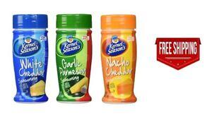 Kernel Season's Ultimate Popcorn Seasoning 3 flavor variety bundle (Pack of 3)