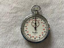 Hanhart 1 Jewel 1/10 Sec Mechanical Vintage Wind Up Stopwatch