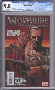 WOLVERINE #66 - CGC 9.8 - 2008 / 1ST OLD MAN WOLVERINE / WRAPAROUND COVER