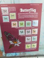 World Of Stamps Series Butterflies of the Republic of Guinea Postal Society