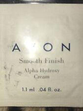 Avon Anew Smooth Finish Alpha Hydroxy Cream  SPF 15 .04 fl oz Samples (2)