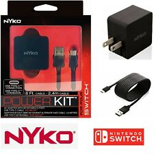 AC Adapter Power Supply Wall Travel Charger For Nintendo Switch 110V-240V (Nyko)
