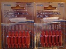 12 x Interdental Total Clean Flossing Tooth Brush 0.5mm Cheapest on ebay