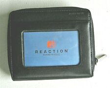 KENNETH COLE Reaction Women's Black Wallet Clutch W/Coin Purse