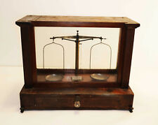 Antique Becker's Sons Rotterdam Analytical Balance (Scientific, Apothecary, Lab)
