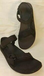 Teva Original Universal Urban Sandals Men's Size 10M  Black 1004010