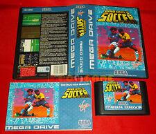 DINO DINI'S SOCCER Sega Mega Drive Versione Europea PAL ○ COMPLETO - DI