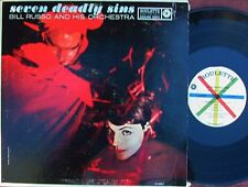 Bill Russo ORIG US LP Seven deadly sins NM '60 Roulette R52063 MONO Jazz Cool