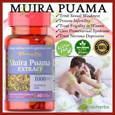 MUIRA PUAMA 1000mg Sexual Enhancement Pills Men Women Sex Supplement 60 Capsules