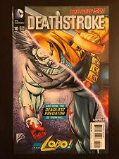 Deathstroke #10 2012 Lobo Variant DC Comic Book Incentive