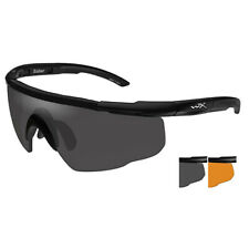 Sport RX 306 Saber Advanced Sunglasses [matte Black Frame, Light Rust And Smoke