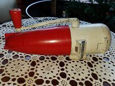 Vintage Ice Crusher - Dazey Triple Ice Crusher - Great Art Deco Look Barware
