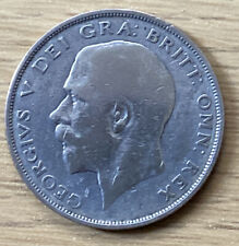 1923 Silver Half Crown King George