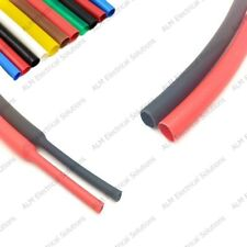 Heatshrink Tube Electrical Sleeving Car Cable/Wire All Colours - 19.1 to 101.6mm