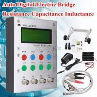 Auto LCR Meter Digital Bridge Resistance Capacitance Inductance ESR Meter 0.3%