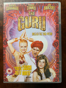 The Guru DVD 2003 British Indian Mystic Romcom Comedy w/ Jimi Mistry