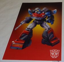 G1 Transformers Autobot Smokescreen Poster 11x17 Box Art Grid FREESHIPPING