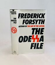 The Odessa File-Frederick Forsyth-SIGNED!!-First/1st U.K. Edition/2nd Printing!!