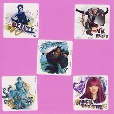 10 Disney Descendants 2 - Large Stickers - Mal, Carlos de Vil, Jay, Evie, Uma