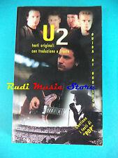 BOOK LIBRO U2 testi con traduzione GUIDA AI BOOTLEGS bono vox no lp dvd cd mc