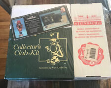 """RARE Steinbach Collectors Club 17.5"""" MAREK & 7"""" Town Cryer w/ Kit-FACTORY SEALED"""