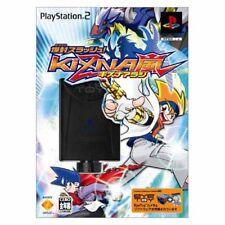 Bakufuu Slash!! Kizna Arashi Eyetoy Bundle (2004) New Sealed Japan 2 PS2 Import