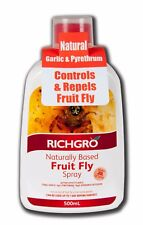Naturally Based Fruit Fly Spray Concentrate 500mL Richgro Organic Insecticide