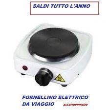 PIASTRA FORNELLO FORNELLINO ELETTRICO VIAGGIO UFFICIO CAMPEGGIO 400 WATT OFFERTA