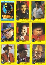 1990 Dick Tracy Movie Trading Cards & Stickers