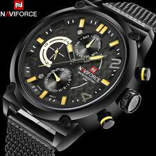 NAVIFORCE 9068-YELLOW fashion sports quartz men Genuine wrist watch