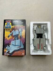 TONKA SUPER GOBOTS LEADER-1 024 1984 Complete in Box