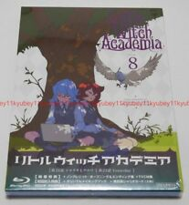 Little Witch Academia Vol.8 First Limited Edition Blu-ray Making Book Card Japan
