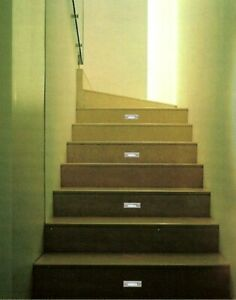 LED Recessed Step Light Stainless Steel Cover Rectangular