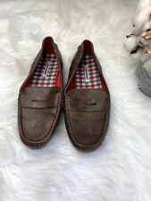 "Boys Ben Sherman Brown Penny Loafer Dress Shoes Size 4.5 ""Marlow"""